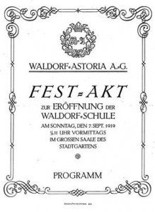 opening waldorfschool